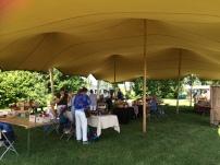 De Weef-in tent